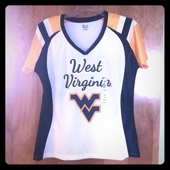 Tops - WVU women's jersey